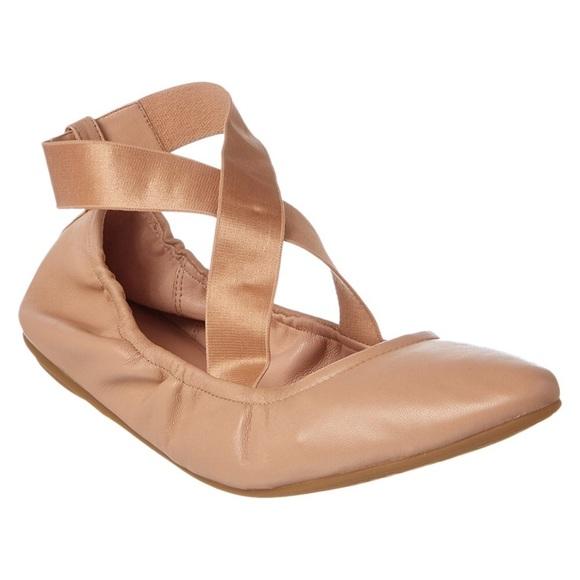 TARYN ROSE Taryn Rose Edina Leather Flat Size 10